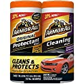 2-Pack Armor All Car Interior Cleaner Protectant Wipes Cleaning