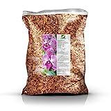 GREEN24 Orchideenerde MK Erde für Orchideen 10 Ltr. Premium Profi Linie Substrat Phalaenopsis,...