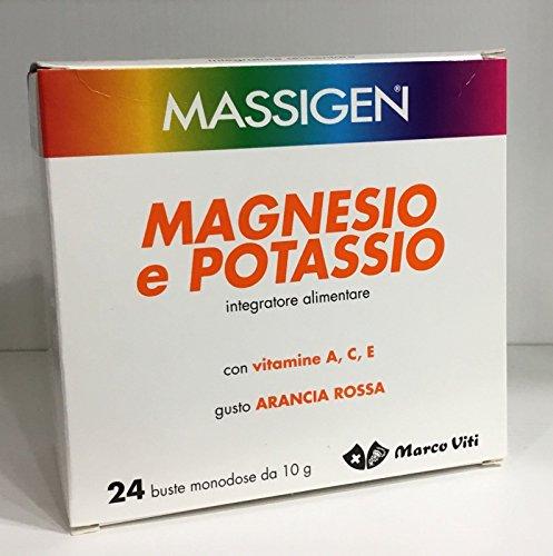 3 x MASSIGEN MAGNESIO E POTASSIO 72 BUSTINE
