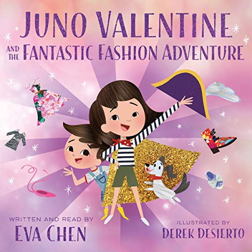 Juno Valentine and the Fantastic Fashion Adventure audiobook cover art