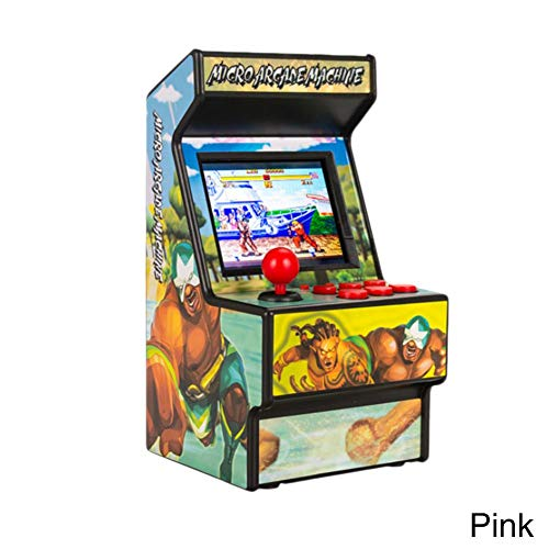 Dubleir Mini Arcade Game–Portatile Arcade Game Macchina retrò Inclusa di 156Giochi elettronici Tascabile Classici per Bambini Adulti, 10.510.520cm