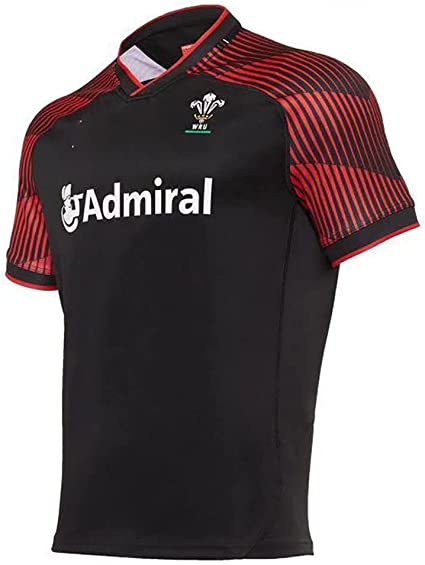 Amazon.com: CJF 2020-2021 Wales Mens Rugby Jersey Sevens Rugby ...