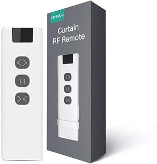 MoesGo telecomando RF433 per sistemi RF per il controllo di tende e tapparelle alimentazione a batteria