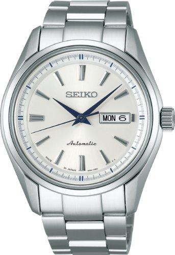 [セイコーウォッチ] 腕時計 プレザージュ メカニカル 自動巻 (手巻つき) サファイアガラス SARY055 メンズ シルバー