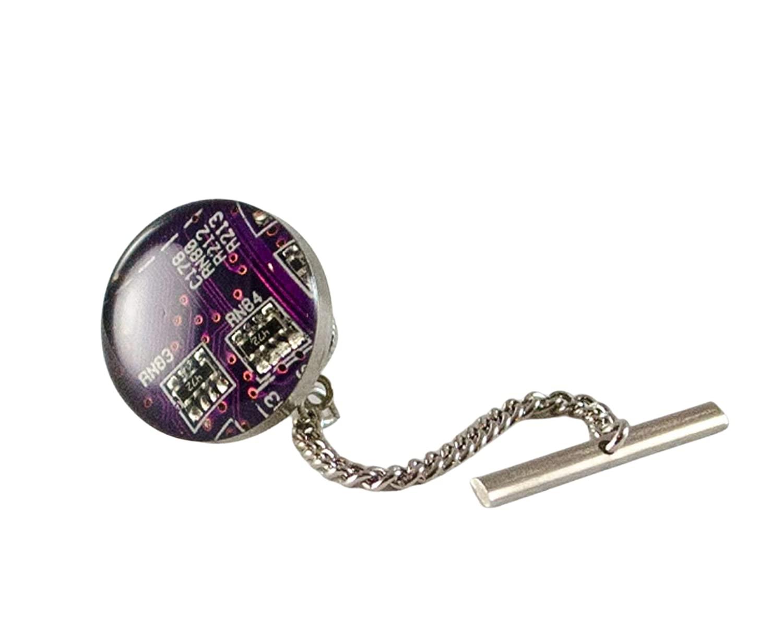 Purple Memphis Mall Circuit Max 44% OFF Board Tack Tie