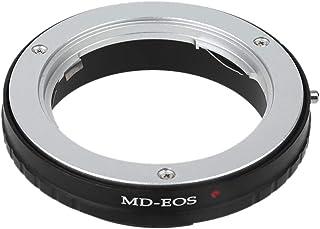 Anello Adattatore per innesto MD-EOS per Fotocamere Minolta MD//MC su Canon EF 143 Adattatore per innesto Obiettivo Supporto modalit/à A//M,