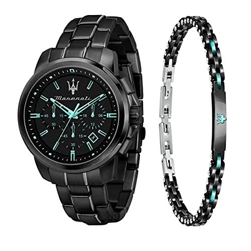 Maserati Aqua Edition Herren Uhr, Quarzwerk, Chronograph - R8873644004