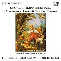 Telemann: Oboe Concertos