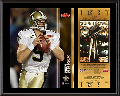 Drew Brees New Orleans Saints NFL Framed 8x10 Photograph Collage