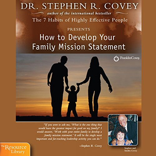 How to Develop Your Family Mission Statement audiobook cover art