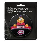 Montreal Canadiens Team Mascot NHL Souvenir Puck -