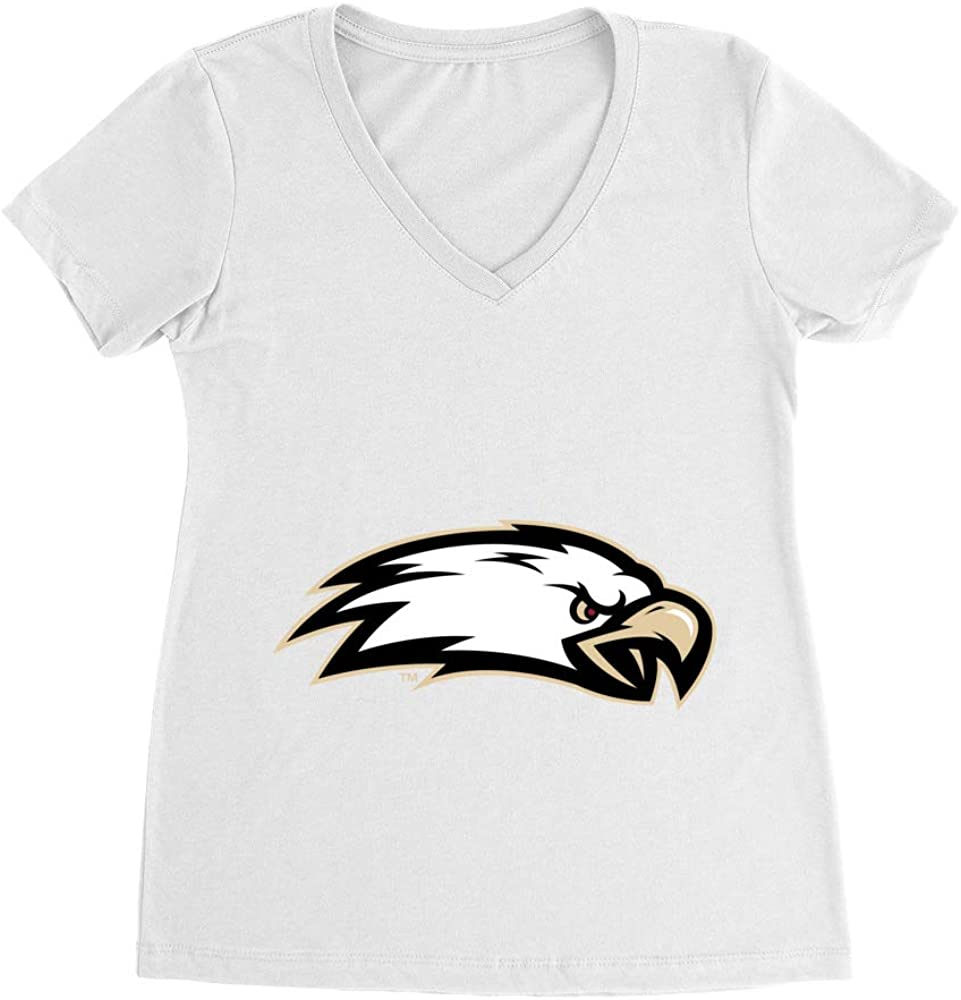 PPBC33 Premium Womens Ideal V Neck Official NCAA Boston College Eagles