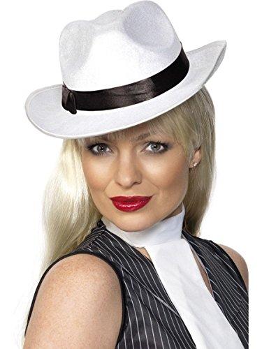 Smiffys Kostüm Zubehör Lady Gangster Hut Mafiabraut Karneval Fasching