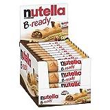 Nutella B-Ready Galletas, crujiente oblea Shell rellenas con avellanas Spread Cacao, 22g