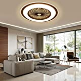 Ceiling Fan LED Fan Chandelier, 36 W, Ceiling Lighting, dimmable with Remote Control, Dimmable Adjustable Wind Speed,...