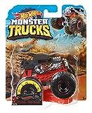 Hot Wheels - Monster Trucks Vehículo 1:64 agitador de huesos, coches de juguetes (Mattel GJY18) , color/modelo surtido