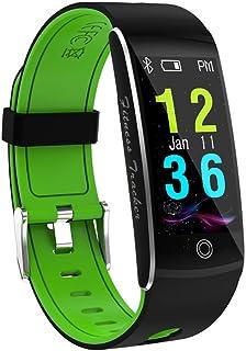 WF Reloj Inteligente con Camara Hombre, Impermeable IP68 Monitor Rítmo Cardíaco Calorías Sueño Various Modos Deporte Largo Duración Pulsera Actividad Inteligente, Android iOS