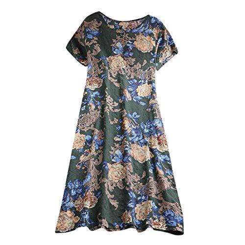 Pottoa jurk voor dames, casual kleding van katoen en linnen vrouwen jurken zomer vrouwen jurken elegante jurken voor meisjes jurk dames zomer grote maten