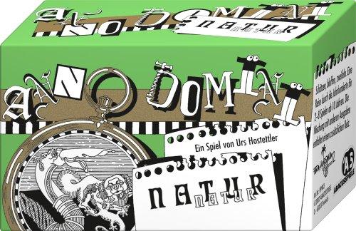 ABACUSSPIELE 09983 - Anno Domini - Natur, Quizspiel, Schätzspiel, Kartenspiel