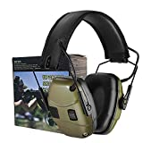 Electronic Shooting Earmuff for Impact Sport, Sound Amplification Ear...