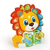 Baby Clementoni- León Educativo ABC, Multicolor, única (61830)