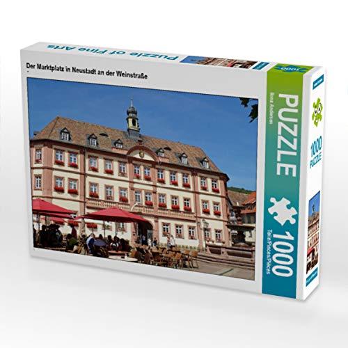 CALVENDO Puzzle Der Marktplatz in Neustadt an der Weinstraße 1000 Teile Lege-Größe 64 x 48 cm Foto-Puzzle Bild von Ilona Andersen