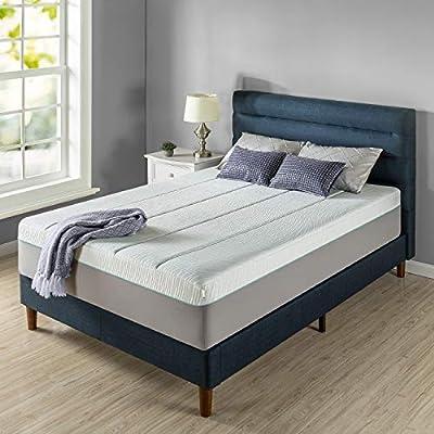 ZINUS 14 Inch Green Tea Pressure Relief Memory Foam Mattress/Zoned Airflow Design/CertiPUR-US Certified/Bed-in-a-Box, King