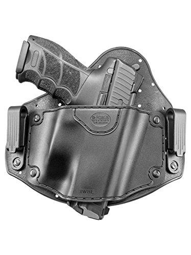 Fobus IWBL verdeckte Trage IWB Im Inneren der Gürtel universal Pistolenhalfter Holster für Glock 20,21,22,31,37 / Heckler & Koch H&K,P30 / Beretta PX4 / Sig Sauer P226,P227 / S&M M&P / CZ 75 P-07 Duty