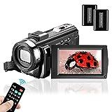 Video Camera Camcorder Melcam Vlogging Camera Full HD 1080P 30 FPS 24 MP