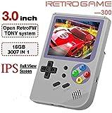 Anbernic Handheld Spielkonsole , RG300 Retro Spielkonsole OpenDingux Tony System , Built-in 3007...