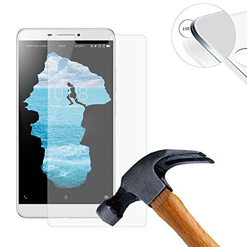 Lusee 2 Stück Schutzfolie für Lenovo PHAB PB1-750N 6.98 Tablet [9H Festigkeit] Bildschirmschutzfolie HD Schutzfolie [Anti Kratzer] [Anti Fingerabdruck] 2.5D Panzerfolie