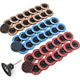 Coceca 48pcs 2 Inches Roloc Discs, Surface Conditioning Disc, Quick Change...