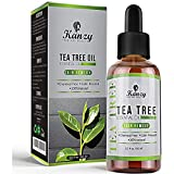 Kanzy Aceite Arbol del Te 60ml Natural Tea Tree Oil Perfecto Tratamiento para...