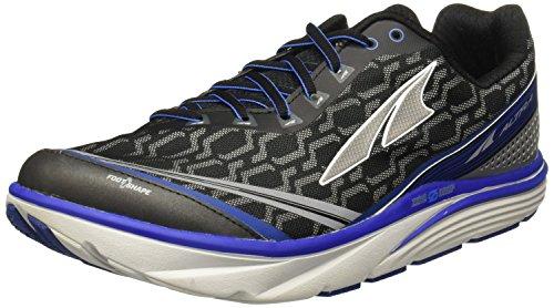 Altra Torin IQ Men's Road Running Shoe, Black/Blue, 9