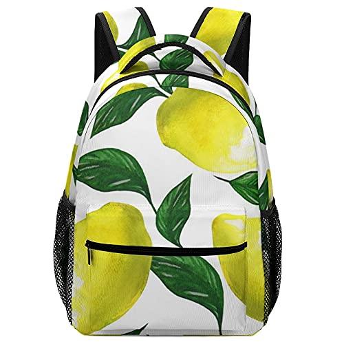 Zaini per ragazzi e ragazze, dimensioni per scuola materna, elementare e bambini, Lemon4