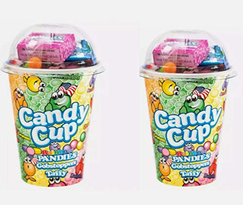 Candy Cup Rainbow Pandies American Candy 2 Cups 180g Each