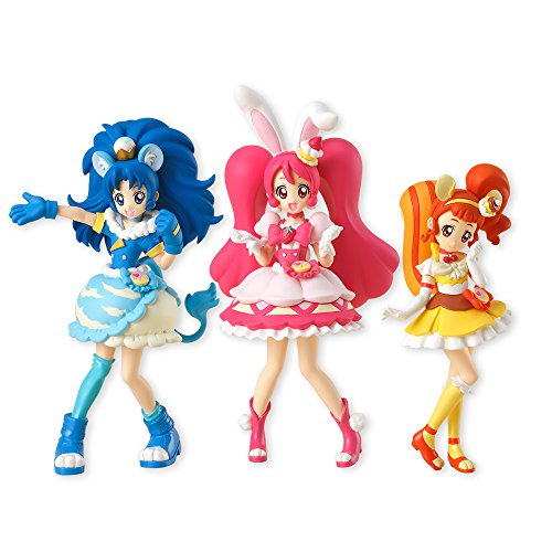 キラキラ☆プリキュアアラモード キューティーフィギュア 3体セット