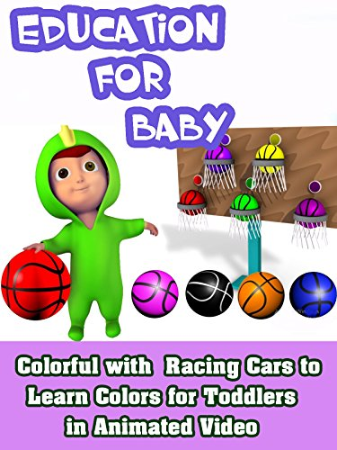 Learning Colors with Colorful Basketball in Education Video