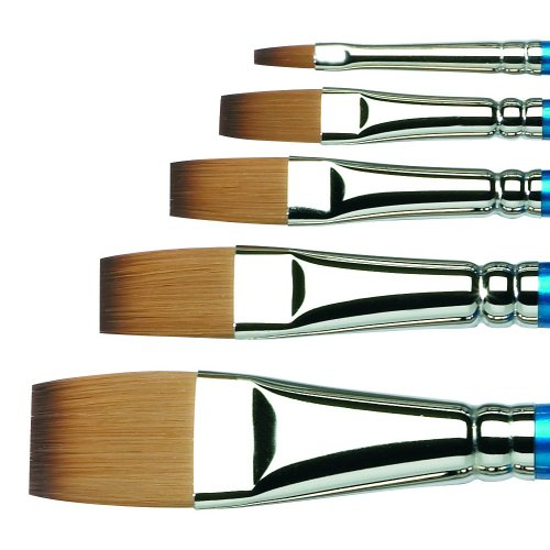 Winsor & Newton Cotman Water Colour Brushes 3/8 in. one stroke flat 666