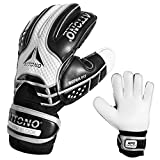 Torwarthandschuhe Power Block V01 Fingersave Torwart Handschuhe von ATTONO® (3-11) (9)