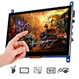 OSOYOO 7 Inch Touch Screen Monitor Display HD 1024x600 Driver Free Plug and Play Capacitiv...