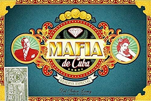 Mafia de Cuba - Asmodee - Jeu de société - Jeu d'ambiance - Jeu de bluff - Jeu de rôle