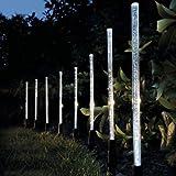 Garden Mile 8x LED cristal bubble Fiche énergie solaire nachlad Bar Jardin Lumières Bordure...