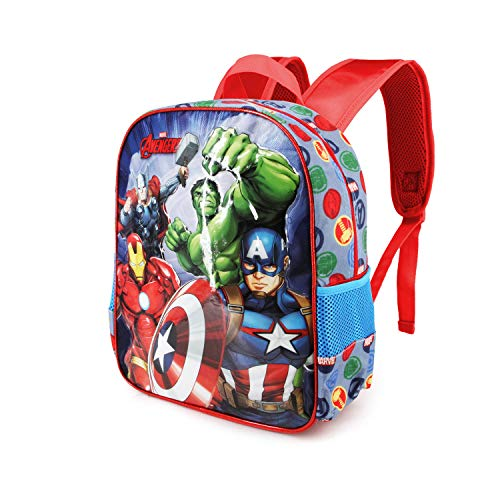 Karactermania The Avengers Force-Basic Rucksack Mochila Infantil 40 Centimeters 18.2 Multicolor (Multicolour)
