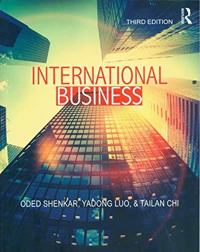 Shenkar, O: International Business