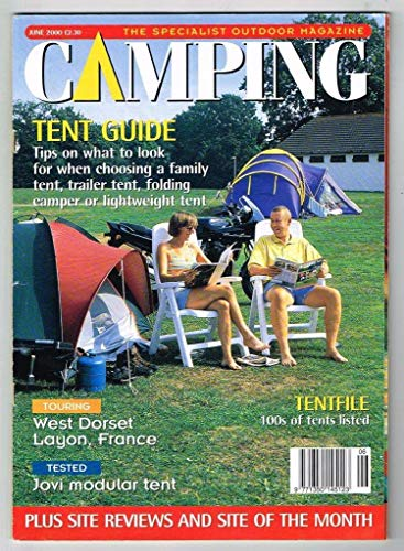 Camping Magazine June 2000 MBox3219/D Tent guide - West Dorset