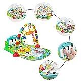 Rclhh Gimnasio Musical animalitos de la Selva, Manta de Juego bebé,3 en 1 Baby...