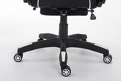 CLP Silla Gaming Turbo en Cuero Sintético I Silla Gamer con Capacidad de Carga 150 kg