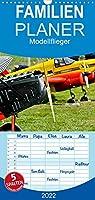 Modellflieger - Familienplaner hoch (Wandkalender 2022 , 21 cm x 45 cm, hoch): Faszinierende Flugzeugmodelle im Flug fotografiert. (Monatskalender, 14 Seiten )