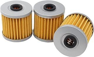 MOTOKU Pack of 3 Oil Filter for Kawasaki Bayou 220 250 300 KLT200 KLT250 Lakota Mojave 250 ATV KLF250 KL650